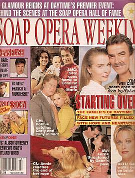 Soap Opera Weekly October 22, 1996