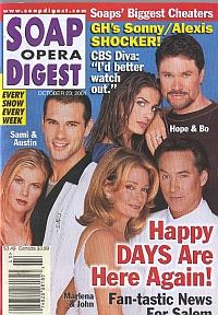 Soap Opera Digest Oct. 23, 2001