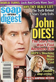 Soap Opera Digest Oct. 23, 2007