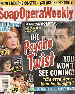 Soap Opera Weekly October 23, 2007