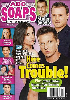 October 23, 2017 issue of ABC Soaps In Depth magazine