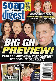 Soap Opera Digest Oct. 23, 2017