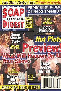 Soap Opera Digest - October 24, 2000