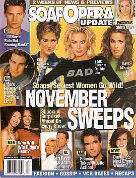 Soap Opera Update October 24, 2000