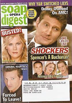 Soap Opera Digest Oct. 24, 2006