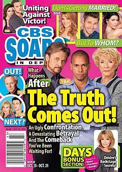 CBS Soaps In Depth October 24, 2011