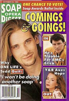 Soap Opera Digest - October 24, 1995