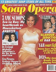 Soap Opera Magazine October 24, 1995