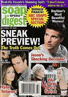Soap Opera Digest Oct. 25, 2005
