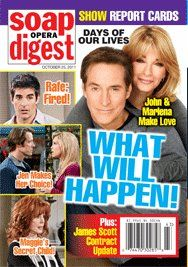 October 25, 2011 issue of Soap Opera Digest magazine