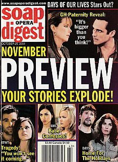 Soap Opera Digest Oct. 26, 2004