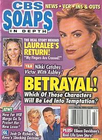 CBS Soaps In Depth October 26, 1999