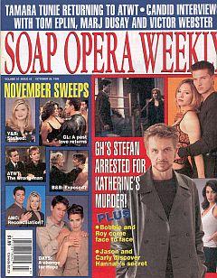 Soap Opera Weekly October 26, 1999