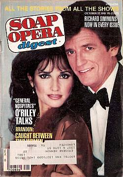 October 27, 1981 issue of Soap Opera Digest
