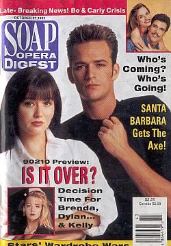 Soap Opera Digest October 27, 1992