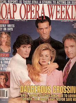 Soap Opera Weekly October 27, 1992