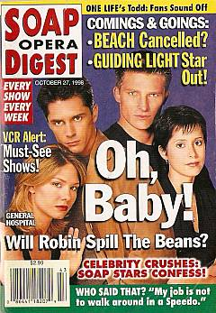 Soap Opera Digest - October 27, 1998