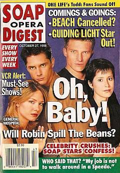 Soap Opera Digest - October 27, 1998