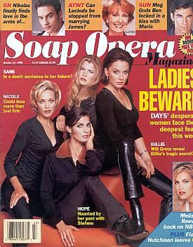 Soap Opera Magazine October 27, 1998