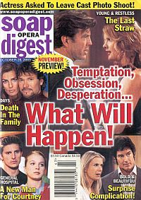 Soap Opera Digest Oct. 28, 2003