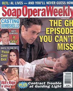 Soap Opera Weekly October 28, 2003