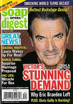 Soap Opera Digest October 28, 2008