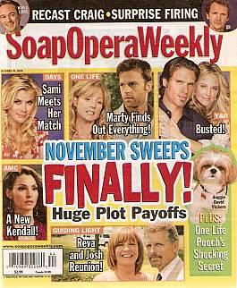 Soap Opera Weekly Oct. 28, 2008