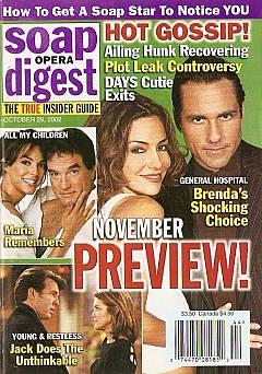 Soap Opera Digest Oct. 29, 2002