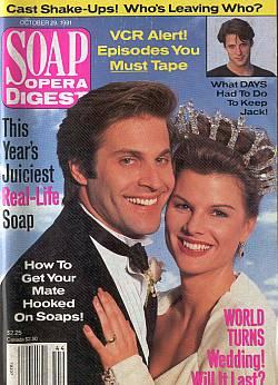 Soap Opera Digest October 29, 1991