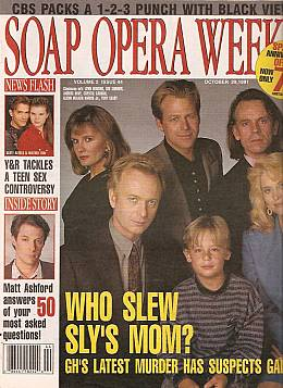 Soap Opera Weekly October 29, 1991