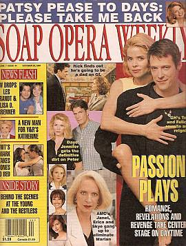 Soap Opera Weekly October 29, 1996