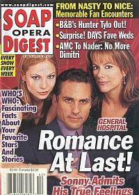 Soap Opera Digest Oct. 30, 2001