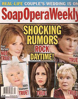 Soap Opera Weekly October 30, 2007