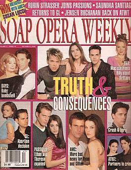 Soap Opera Weekly October 3, 2000