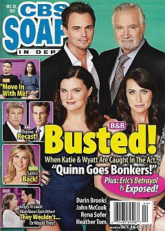 CBS Soaps In Depth October 30, 2017
