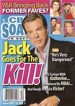 CBS Soaps In Depth October 3, 2006