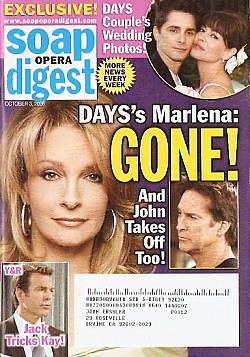 Soap Opera Digest Oct. 3, 2006