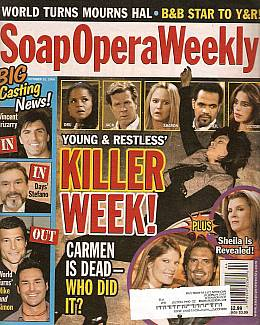 Soap Opera Weekly October 31, 2006