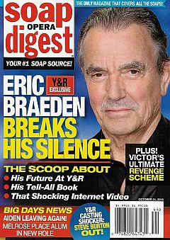 Soap Opera Digest Oct. 31, 2016