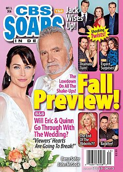 CBS Soaps In Depth Oct. 3, 2016