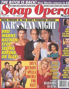 Soap Opera Magazine October 31, 1995