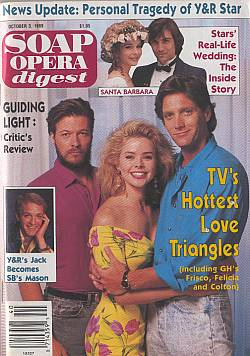 Soap Opera Digest October 3, 1989