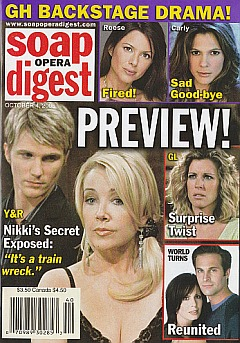 Soap Opera Digest Oct. 4, 2005