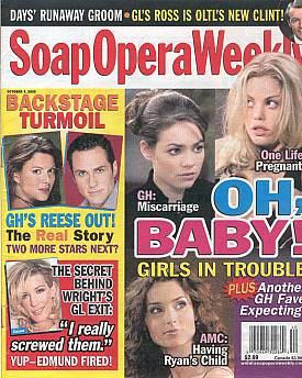 Soap Opera Weekly October 4, 2005