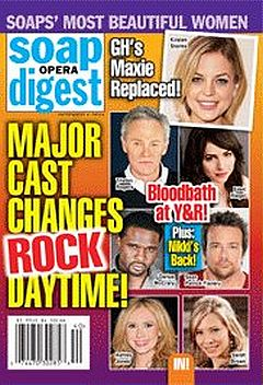October 4, 2011 issue of Soap Opera Digest magazine