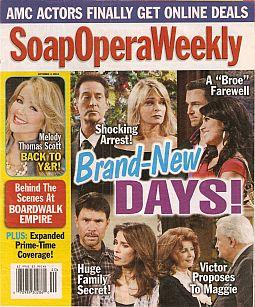 Soap Opera Weekly - October 4, 2011