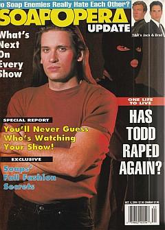 October 4, 1994 issue of Soap Opera Update magazine