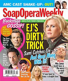October 5, 2010 issue of Soap Opera Weekly magazine