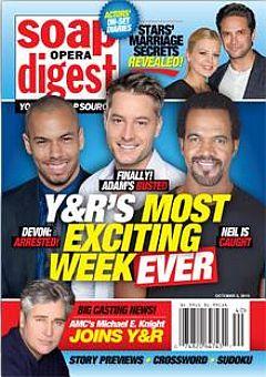 Soap Opera Digest Oct. 5, 2015