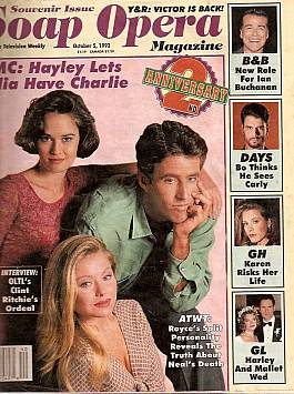 Soap Opera Magazine Oct. 5, 1993